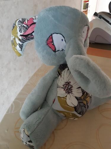 Makerist - patron peluche éléphant Manuia  de Mômes Déziles - #makeristalamaison - 2