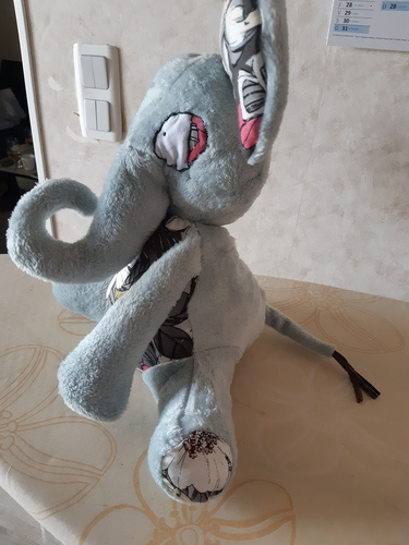 Makerist - patron peluche éléphant Manuia  de Mômes Déziles - #makeristalamaison - 3