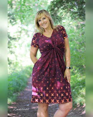 Knotenkleid Twisted Dress Sewera