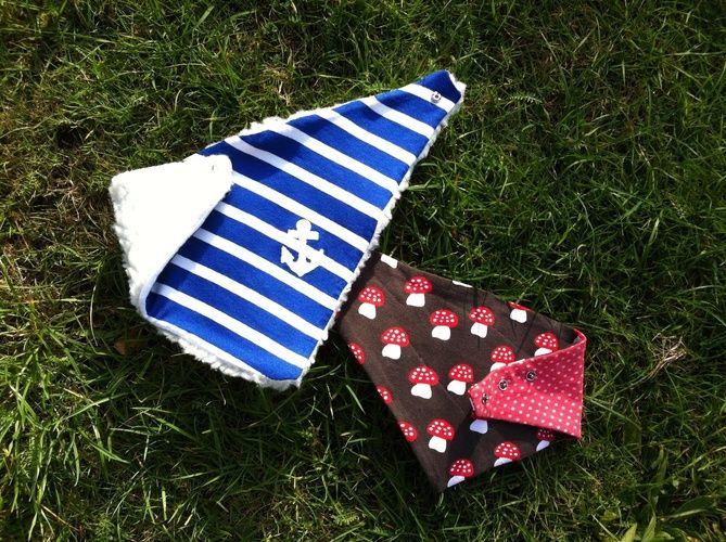 Makerist - Dreieckstücher für Babys - Nähprojekte - 1