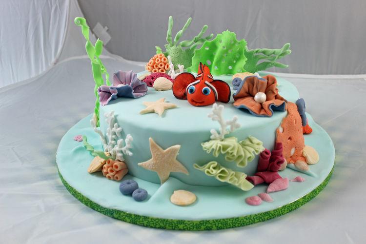 Makerist - Nemo´s Unterwasserwelt - Torten, Cake Pops und Cupcakes - 1