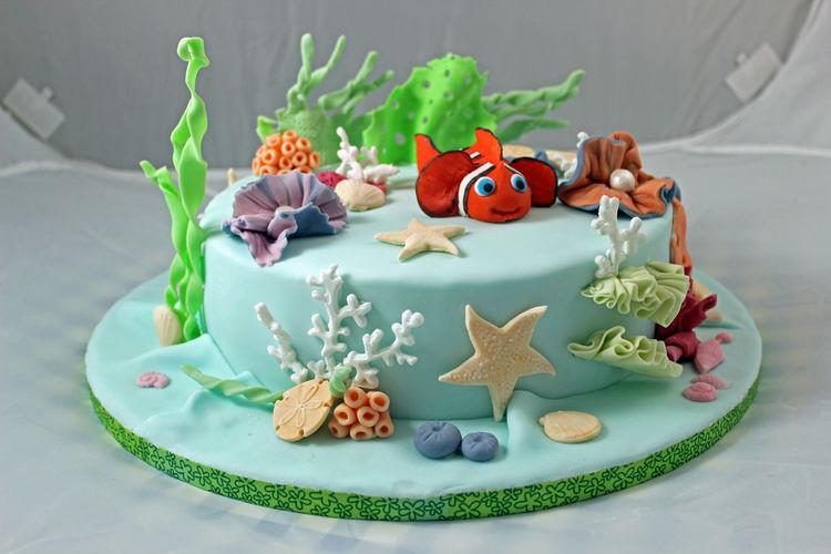 Makerist - Nemo´s Unterwasserwelt - Torten, Cake Pops und Cupcakes - 2