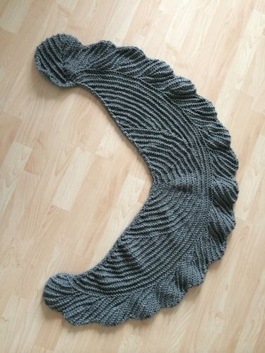 Makerist - La Fenice der Schal von Sylvie Rasch - Strickprojekte - 1