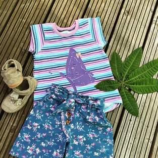 Makerist - Emmas Sommershorts für meine Tochter  - 1