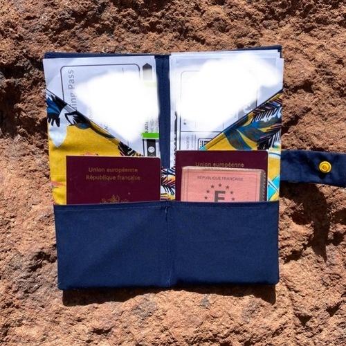 Makerist - Porte passeport billet d avion  - Créations de couture - 2