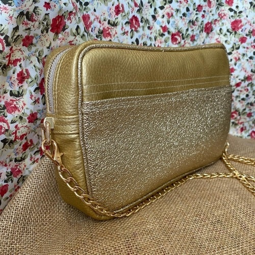 Makerist - Sac Eugène en simili cuir avec doublure en coton floral - Autres créations - 1