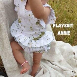 Makerist - Playsuit Annie für Babies und Kleinkinder  - 1