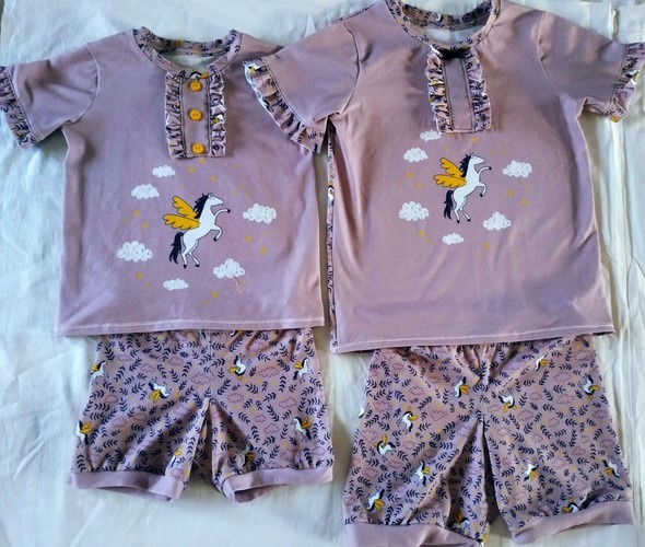 Makerist - PYJAMA LASSEN LITTLE LIZARD KING - Créations de couture - 1