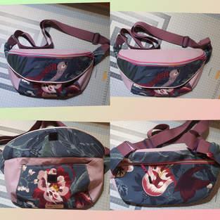 Makerist - Bauch-/Brusttasche in Groß mit Klappe - 1