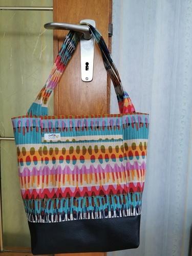 Makerist - Lumali BAG kleiner Shopper - Strickprojekte - 1