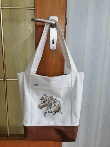 Makerist - Lumali BAG kleiner Shopper - Strickprojekte - 2