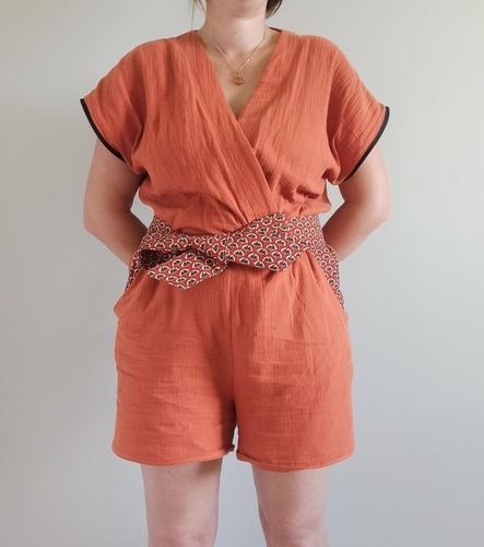 Makerist - Combishort aracuja - Créations de couture - 1