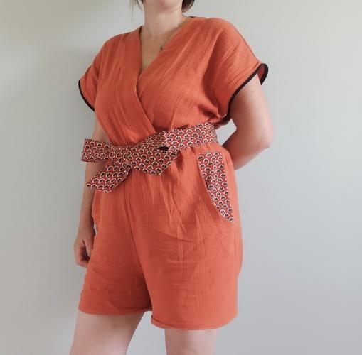 Makerist - Combishort aracuja - Créations de couture - 2