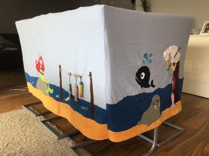"""Makerist - Spieltischhusse für """"Meer""""freunde  - DIY für Kinder - 1"""