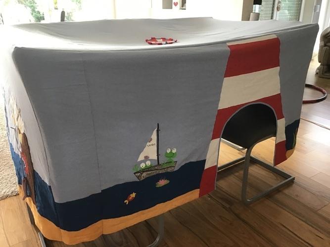 """Makerist - Spieltischhusse für """"Meer""""freunde  - DIY für Kinder - 2"""