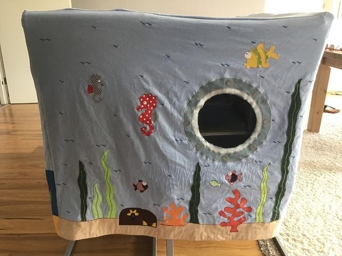"""Makerist - Spieltischhusse für """"Meer""""freunde  - DIY für Kinder - 3"""