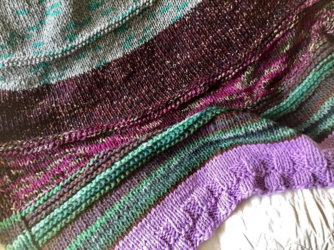 Makerist - The Forbidden Forest  - Knitting Showcase - 2