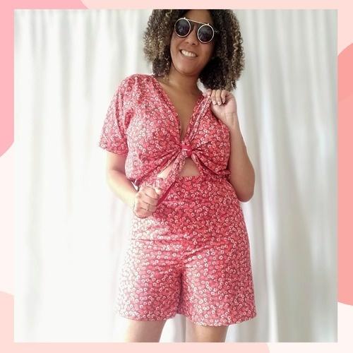 Makerist - Combishort estivale  - Créations de couture - 1