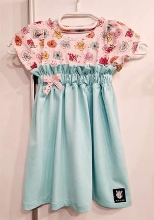 "Makerist - Kleid aus Jersey ""LOVELY BLOOM PAPERBAG-KLEID"" - 1"