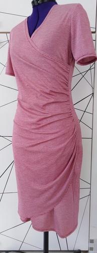 Makerist - Robe jet à rayures - Créations de couture - 1