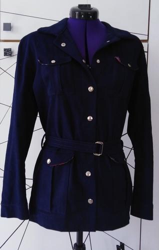 Makerist - Saharienne Narcisse bleue marine - Créations de couture - 1