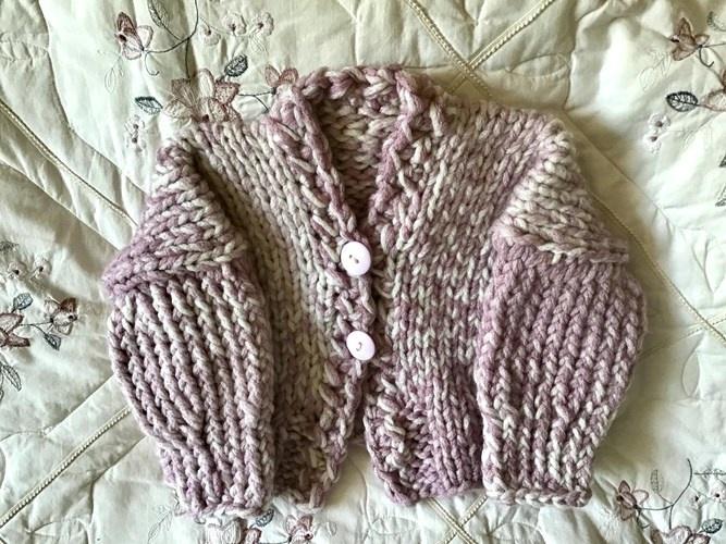 Makerist - Little Miss Monroe Cardigan - Knitting Showcase - 3