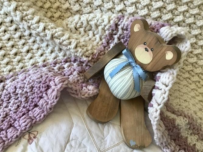 Makerist - French Chateau Baby Blanket  - Crochet Showcase - 1