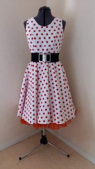 Makerist - Robe vintage pour événement rétro sur les années 50 - 1