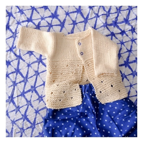 Makerist - Cardigan KNITTING WITH CHOPSTICKS FR - Créations de tricot - 1