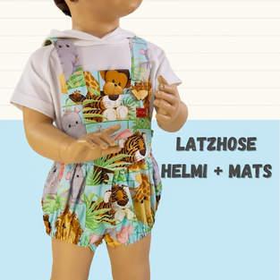 Makerist - Latzhose Helmi und Mats  aus Webstoffe für Kinder - 1