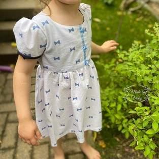 Makerist - Kinderkleid Vreni aus Webware oder Jersey - 1