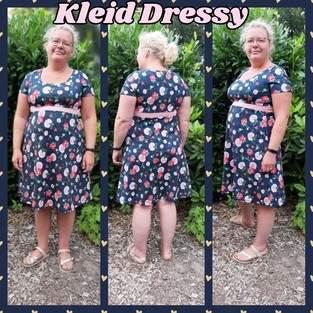 Makerist - Kleid Dressy ohne Kellerfalte Kurzarm  - 1
