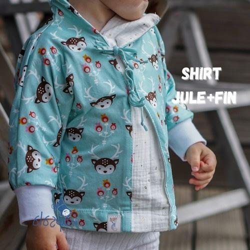 Makerist - Shirt Jule + Fin für Kinder aus Jersey - Nähprojekte - 1