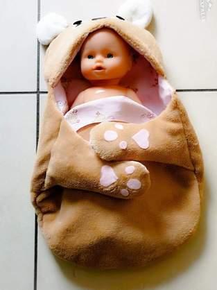 Makerist - Nid d.ange pour poupée  - 1