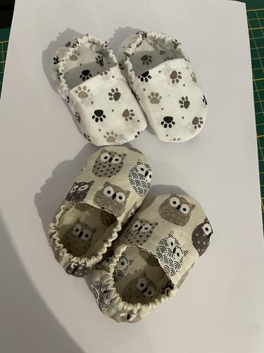 Makerist - Petit chausson bébé  - Créations de couture - 1