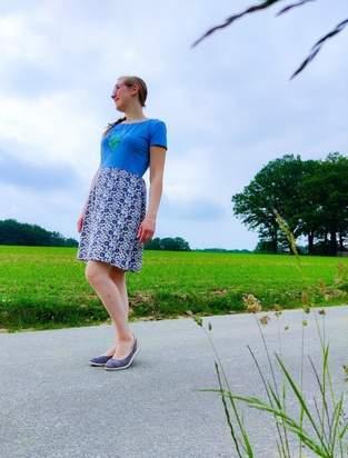 Makerist - Kleid Elok aus Jersey für mich - 1