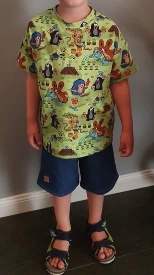 Makerist - Rosarosa Shirt und Shorts für mein Mittelkind, Sweatjeans und Paulijersey - 1