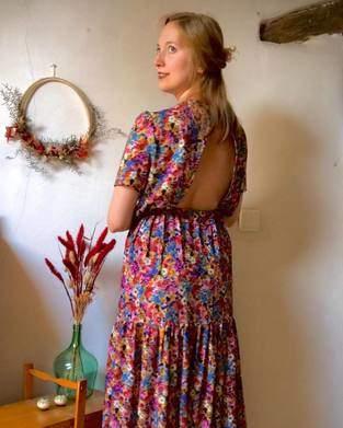 Makerist - Robe Enola - Clematisse Pattern - 1