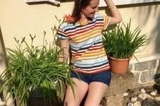 Makerist - T-Shirt Frau TINA 🌈🧵 - 1