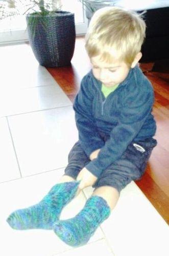 Makerist - Socken für Mico - Strickprojekte - 2