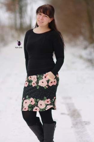 Makerist - Ladies Basic Skirt aus Jersey - 1