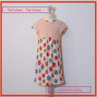 Makerist - easy-peasy-Kleid mit Törtchen - 1