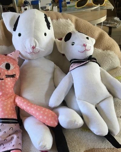 Makerist - Patron peluche de petit chat  - Créations de couture - 1