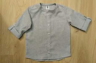 """Makerist - Das """"Michel"""" Hemd für meinen Enkel Paul. Aus Halbleinen. - 1"""