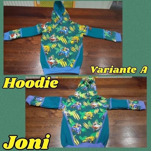 Makerist - Hoodie Joni Variante A - Nähprojekte - 1