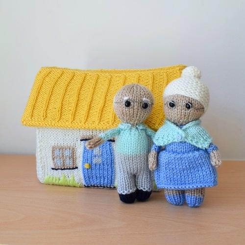Makerist - Grandma and Grandpa - Knitting Showcase - 1