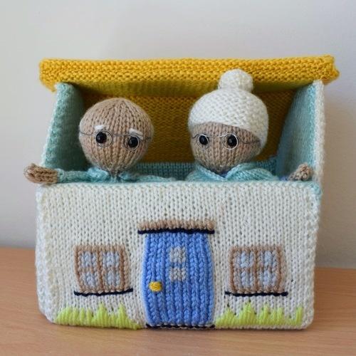 Makerist - Grandma and Grandpa - Knitting Showcase - 2