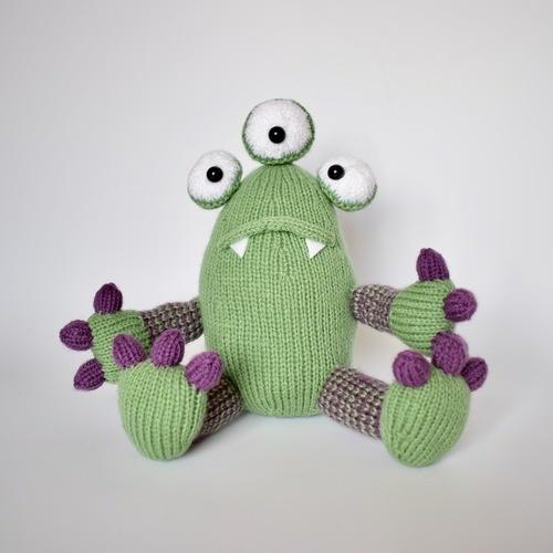 Makerist - Mister Monster - Knitting Showcase - 1