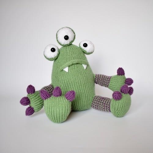 Makerist - Mister Monster - Knitting Showcase - 3
