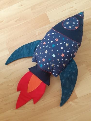 Makerist - Raketenkissen - Nähprojekte - 1